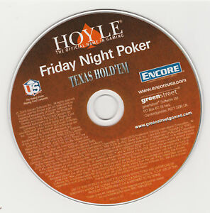 Hoyle® Friday Night Poker (PC CD-ROM) 13 games, Gambling Simulation Windows 10+