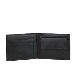 Nuvola Pelle Men's Classic Wallet in Soft Genuine Nappa Leather with Coin Pocket