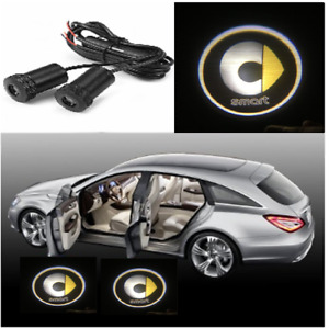 Smart 450 451 452 2X LED Car Door Light HD Logo Courtesy Projector Ghost Lase