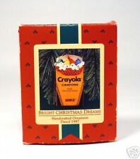 "1987 Hallmark's Crayola Orn. ""Bright Christmas Dreams"""