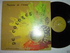 LES PEINTRES DE LA GAMME De Colores! LP Quebec Cursillo Records Canada VG/VG