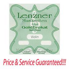 Lenzner Goldbrokat Violin E String 4/4 Ball End STARK
