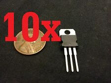 10x L317 LM317 LM317T TO-220 Voltage Regulator 1.2V To 37V 1.5A US07JR a10