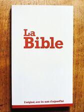 French Bible, La Bible, Segond 21, Paperback 21st century Segond, Economy Red