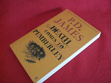 Death Comes to Pemberley ~ P D JAMES  Distinguished work of fiction   Masterful!