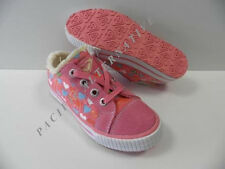 Chaussures ROXY Little Cotton rose coeurs FILLE NEUF 33
