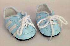 "18"" Doll Light Blue Soccer Shoes fits 18"" Doll Light Blue Soccer Shoes"