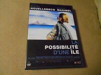 """DVD """"LA POSSIBILITE D'UNE ILE"""" Benoit MAGIMEL / Michel HOUELLEBECQ"""