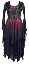 Stunning Gothic Cobweb Dress / Red Black Jordash - Dark Star Free Size 10/16