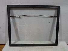 Mid century modern picture frame,black, 7.75 by 9.75 inches,# 1184