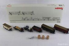 """Märklin 45101 Wagenset  """"Geislinger Steige"""" 6 Güterwagen neuwertig und mit OVP"""