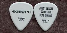 EUROPE 2012 Bones Tour Guitar Pick!!! JOHN NORUM custom concert stage Pick #4