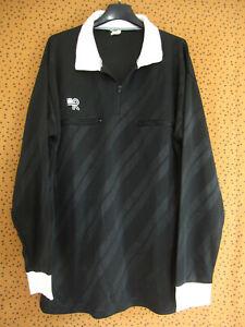 Maillot Arbitre Ligue Porté Kopa Heurtefeu Football vintage Noir 80'S - M
