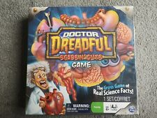 NEW & SEALED DOCTOR DREADFUL SCABS N GUTS GAME - REAL SCIENCE FACTS