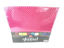 Bazzill Basics Glazed Cardstock 12x12 Pack Of 10 Printed Sheets Scrapbook Crafts