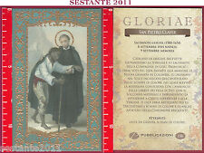 C133 SANTINO HOLY CARD S. SAN PIETRO CLAVER 9 SETTEMBRE