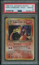 Pokemon Japanese Dark Charizard PSA 10 Gem Mint No. 6 Team Rocket
