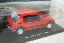 Peugeot '86 205 Gti 1,9 - rot - 1:24 - Magazin Modell