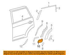 TOYOTA OEM 06-12 RAV4 Exterior-Rear-Extension Right 616910R901
