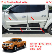 Side Molding Body Cladding For Nissan Navara Frontier NP300 D23 4Dr UTE 2016 17