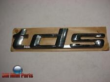 BMW E34 E36 E38 E39 'TDS' REAR ADHERED EMBLEM 51148119643