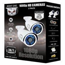Night Owl 1080p HD Analog Add-on Bullet Camera 2-pack