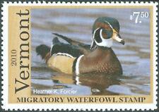 VT25 2010 Vermont State Stamp