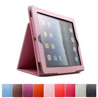 New Magnetic Slim Flip Leather Case Smart Stand Cover Case For iPad 2/3/4/Air 2