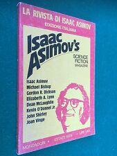 LA RIVISTA DI ISAAC ASIMOV n.2 (1978) SCIENCE FICTION , Bishop Lynn Dickson