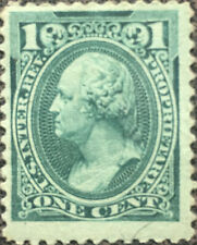 Scott RB11 US 1875 1 Cent Washington Revenue Proprietary Stamp