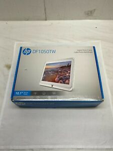 """HP 10.1"""" WiFi Digital Photo Frame HD Display Music Remote Upload iPhone Android"""