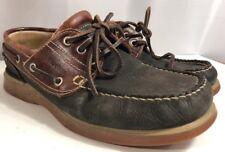 Men's Fluchos Leather Boat Shoes Moc EU 41 Made in Spain