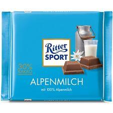Ritter Sport Alpenmilch Alpine Milk 30% Cocoa chocolate bar -100g-
