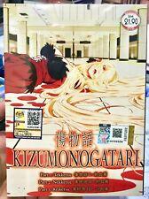 Kizumonogatari Part 1-3 (Tekketsu, Nekketsu, Reiketsu)~ All Region ~ Brand New ~