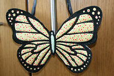 Lacy Butterfly Hanging Quilted  Door Window Ornament