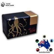 TimeWalker BLACK SQUID ELITE DeckBox MTG Yugioh Pokemon Card Game Thrones House