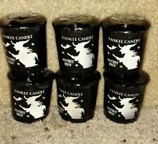 YANKEE CANDLE HALLOWEEN WITCHES BREW VOTIVE CANDLES NIP