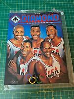 Diamond sports memoranilia vol.1 no.2-Olympic Basketball Team March/April 1992