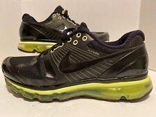 Nike Air Max + 2010 ATTACK PACK 360 BLACK NEON VOLT GREEN WHITE 386368-008 11.5