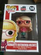 New ListingFunko Pop Tv The Big Bang Theory Bernadette Wolowitz #58 Bbt Nib television