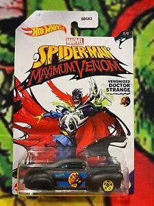 Hot Wheels 2020 Spider-Man Maximum Venom Tail Dragger Veomized Doctor Strange #1
