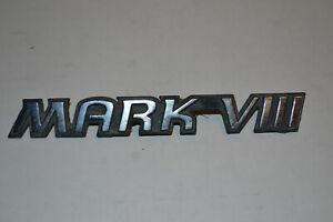 Trunk Emblem 1993 1994 1995 Lincoln Mark VIII Badge Ornament Medallion 93 94 95