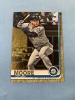 2019 Topps Update Dylan Moore Gold Parallel SP RC #'d /2019 🔥🔥 Card #US206
