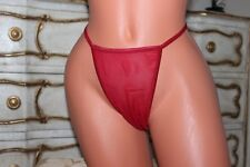 Red sheer Thong  Knickers Lingerie Plus size 5X/6X