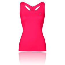 Abbigliamento sportivo da donna rosa senza maniche taglia M