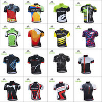 New Men Team Cycling Short Sleeve Tops Bicycle Jersey Racing Clothing Sportswear