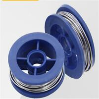 2x Fine 0.8mm Tin Lead Rosin Core Solder Welding Iron Wire Reel 63/37 XL