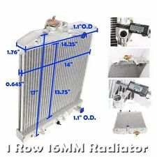 Auto Transmission Radiator for 92-95 Civic LX/DX Sedan 4D 1.5L 16mm 1ROW