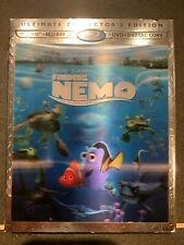 Finding Nemo Blu-Ray + Bluray 3D + Dvd (4 Disc Set) Ultimate Collector'S Edition