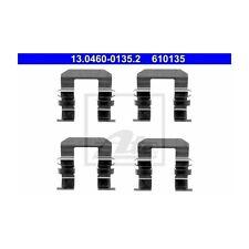 2 St. ATE 13.0460-0135.2 Zubehörsatz, Scheibenbremsbelag   Chevrolet Captiva